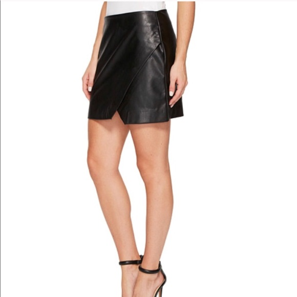 30389f9afd Free People Skirts | Blank Nyc Vegan Leather Mini | Poshmark